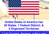 USA Travel Log • States Visited version 5.0 update soon